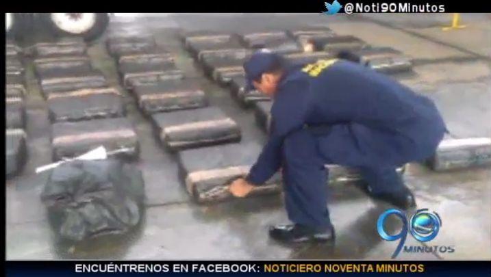 Armada interceptó lancha con cocaína que iba para EE.UU.
