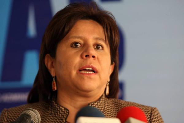 María del Pilar Hurtado se entregó a las autoridades