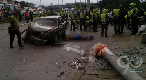 Un muerto durante persecución policial a presuntos fleteros