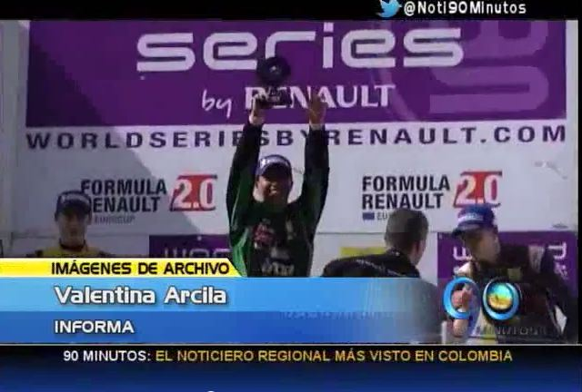 Piloto Óscar Tunjo ocupó el segundo lugar en campeonato en Cancún