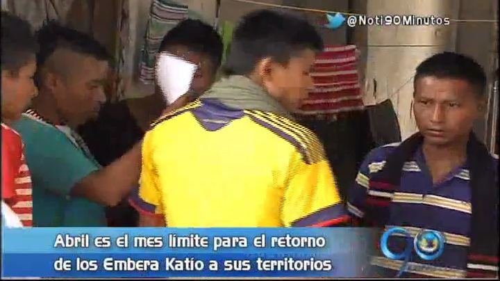 Abril, fecha límite para reubicación de Emberas Katío de Cali