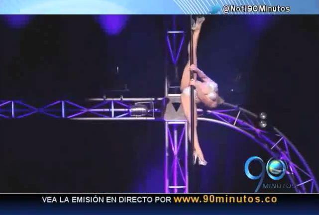 El Pole Dance está en furor en mujeres y hombres
