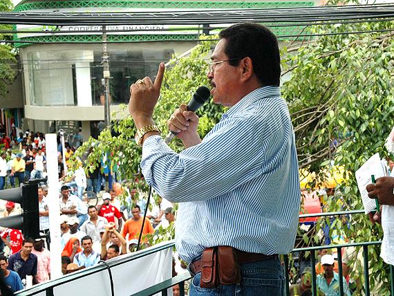 Atentaron contra Guillermo Rivera, presidente de Sintrainagro