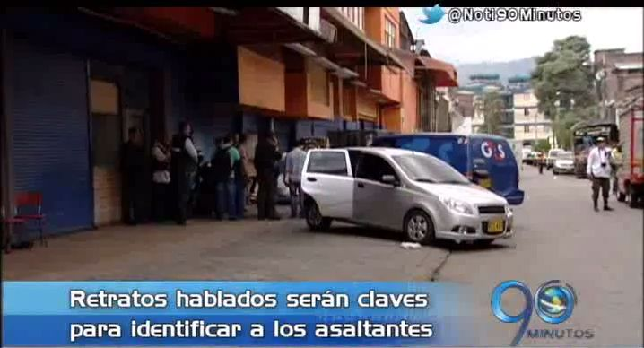Recompensa por autores de robo a carro de valores en Santa Elena