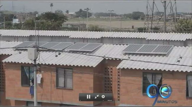 Con energía solar son energizadas cinco casas de Potrero Grande