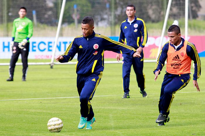 Listos los 22 jugadores que harán parte de la Selección Colombia Sub 17
