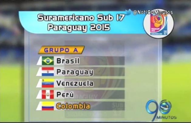 Desde Bogotá, la Tricolor se prepara para el Suramericano Sub 17