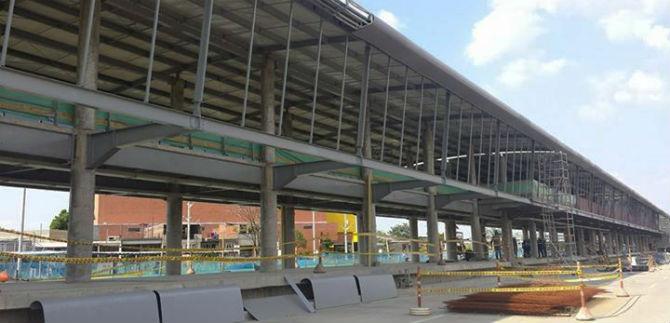 MÍO: en un mes estaría lista la terminal Julio Rincón