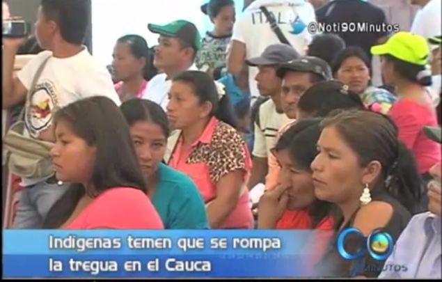 Indígenas de Cauca denuncian que Farc no cumplen cese al fuego