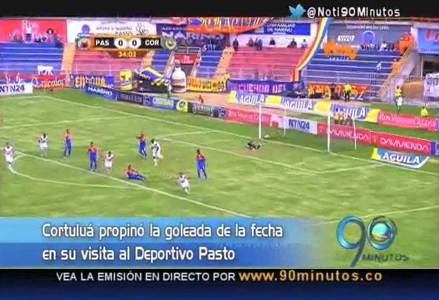 Cortuluá goleó al Deportivo Pasto en segunda fecha de la Liga