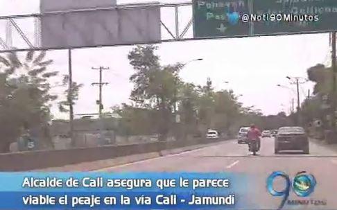 Alcalde de Cali ve viable la instalación de peaje en la vía Cali Jamundí