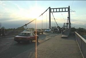 La construcción del puente de Juanchito comenzaría en seis meses