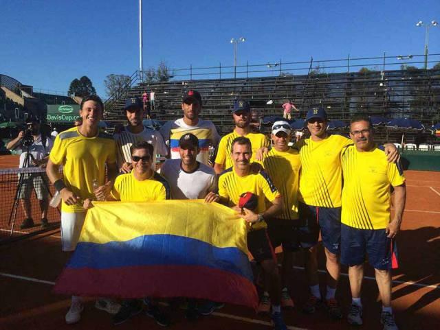 Colombia se quedó con el tiquete al Grupo Mundial de la Copa Davis
