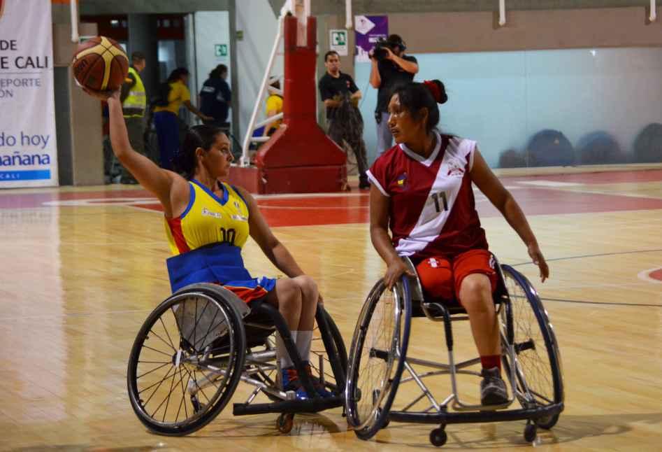 Rodó el Suramericano Femenino de Baloncesto en Silla de Ruedas en Cali