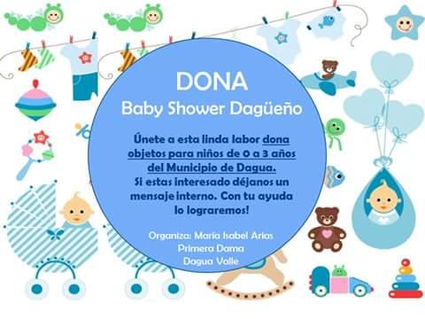 Un Baby Shower por los niños más necesitados de Dagua
