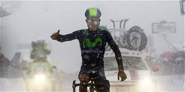 Nairo se convirtió en líder de la general, tras ganar etapa en la Tirreno – Adriático