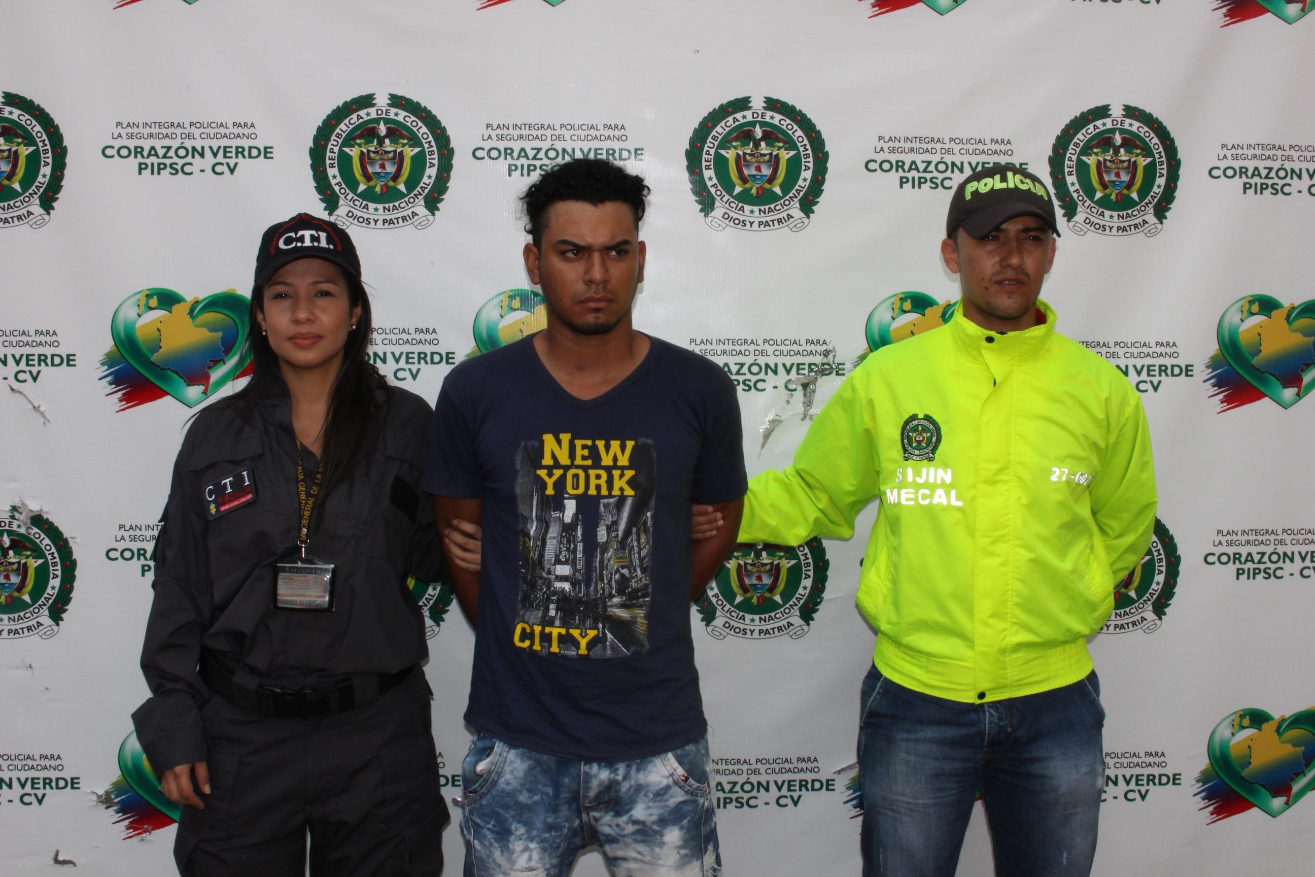 Capturan presunto responsable por muerte de joven de 20 años