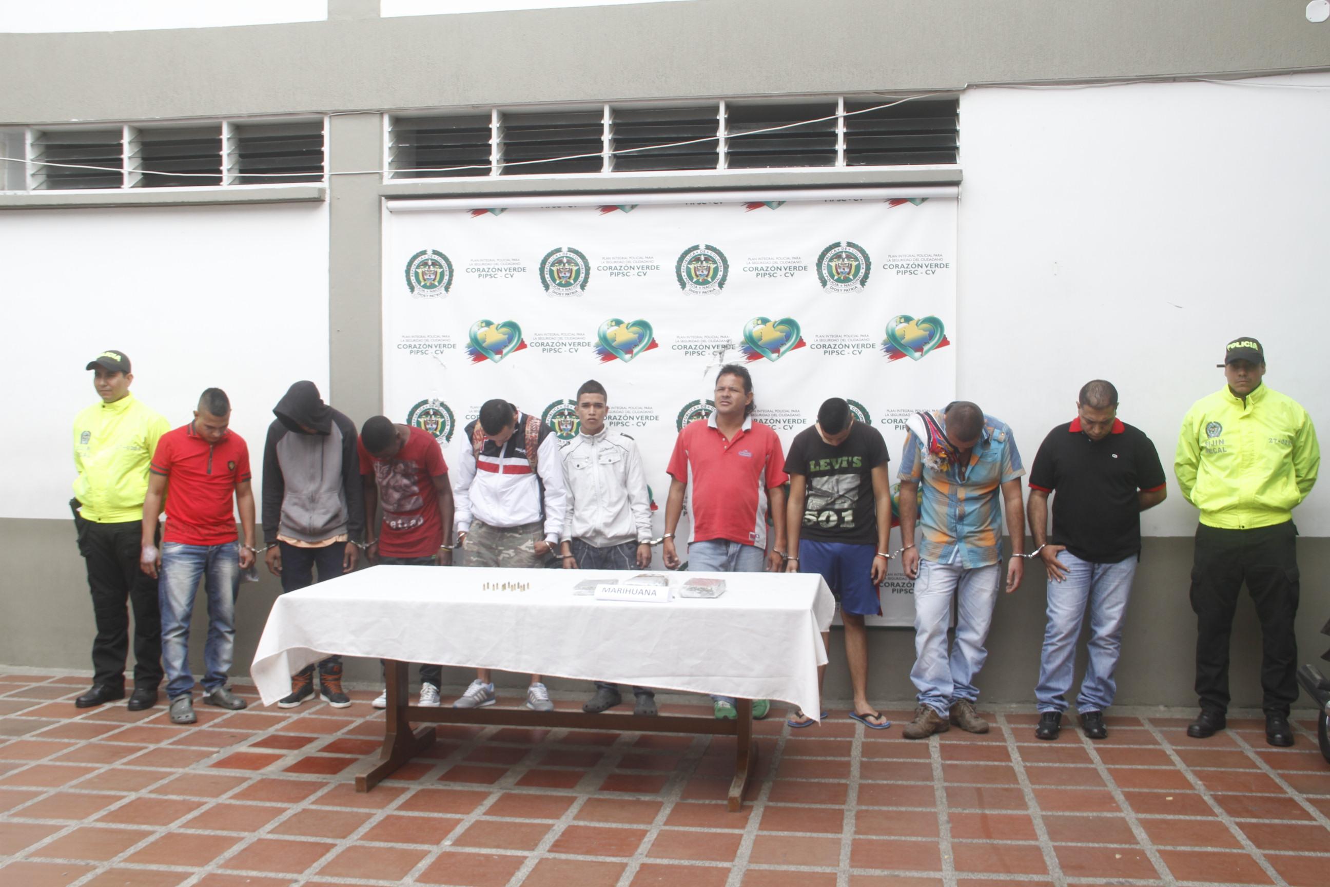 Capturados 11 integrantes de la banda criminal ´Los Sánchez´