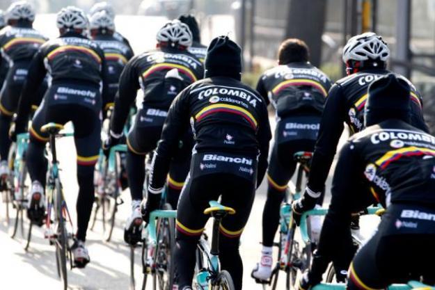 El Team Colombia fue invitado a correr la Vuelta a España de 2015