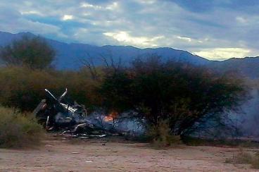 Diez muertos dejó choque de dos helicópteros en Argentina