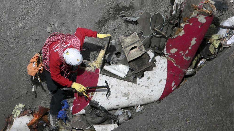 Reanudaron la búsqueda de los cuerpos de las víctimas del Germanwings