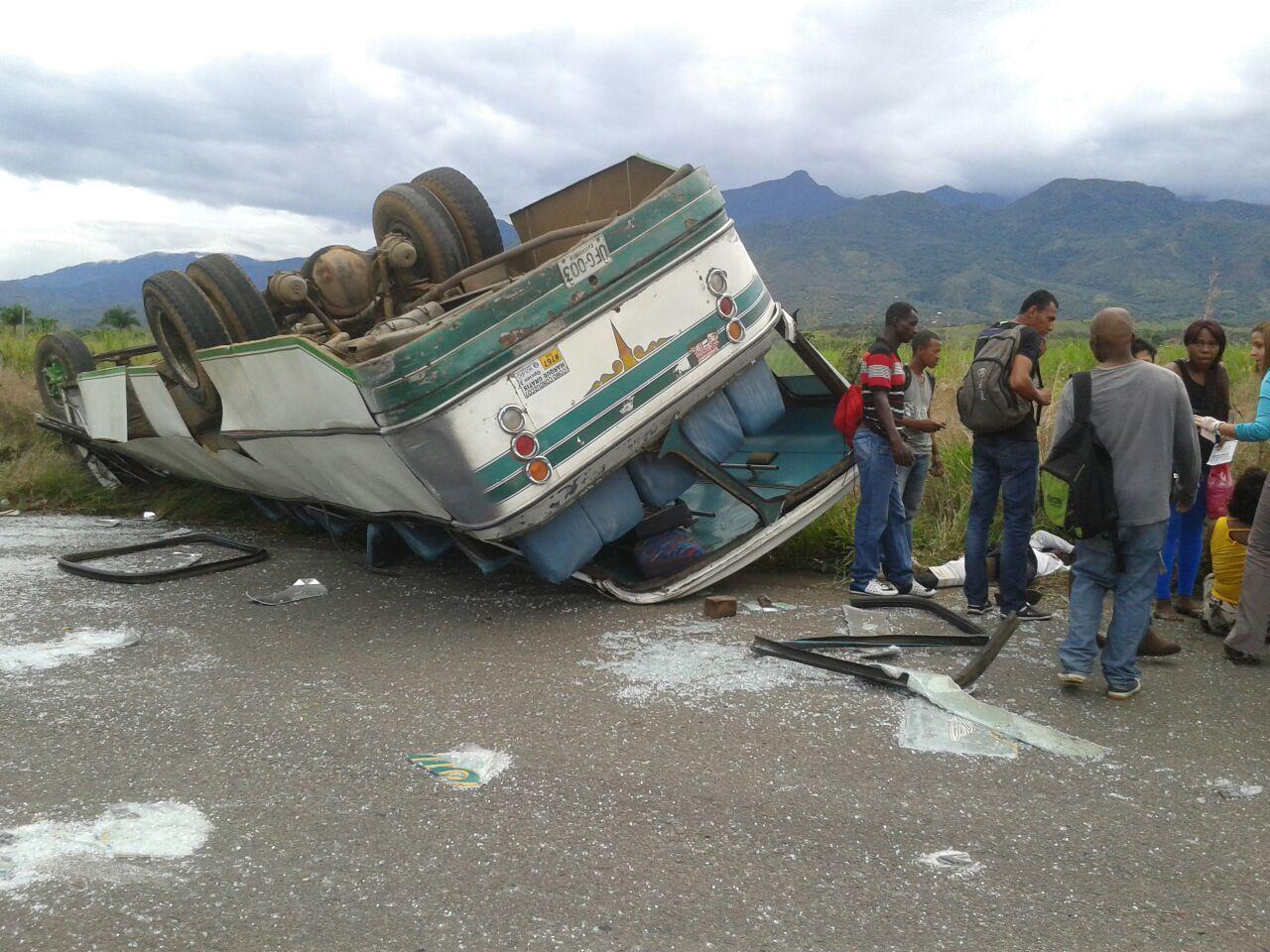 30 heridos dejó el accidente de un bus en la vía Cali-Jamundí