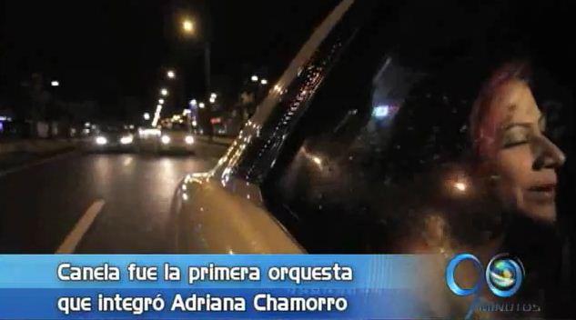 La cantante Adriana Chamorro, en la entrevista de la semana