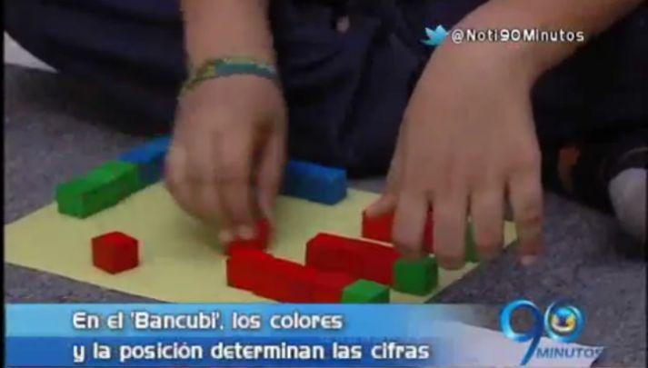 Conozca el Bancubi, una forma muy divertida de aprender matemáticas