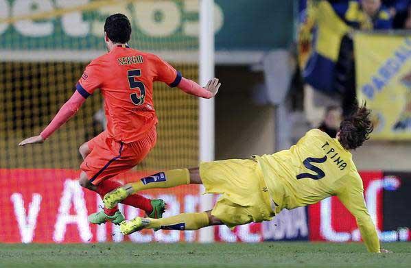 Barcelona ganó al Villarreal y consiguió el tiquete a la final de la Copa del Rey
