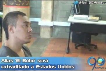 Extraditarán al 'Búho', presunto responsable de masacre en La Barra