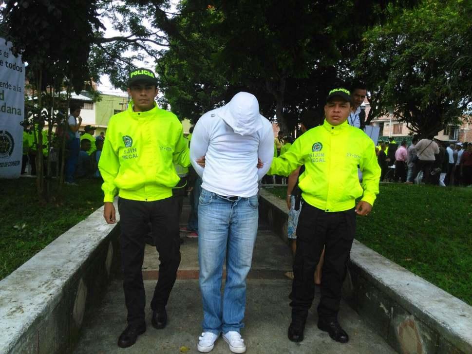 Capturado alias El Jugador, líder de una banda delincuencial en Jamundí