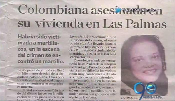A martillazos fue asesinada una mujer colombiana que vivía en Ecuador