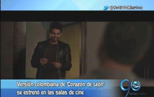 Se estrenó la versión colombiana de la película 'Corazón de León'