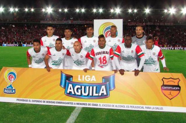 Cortulúa perdió por goleada contra Santa Fe en el estadio El Campín