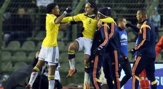 Bacca inició el sexteto de la gloria para Colombia ante Bahréin