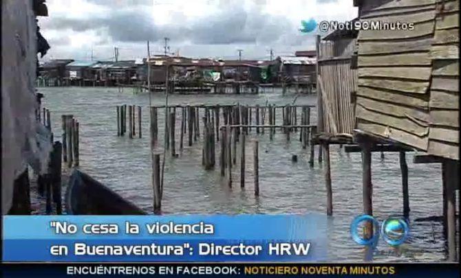 Sigue la crítica situación de DD.HH. en Buenaventura según HRW