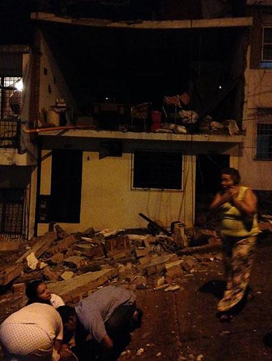 Una persona herida tras explosión de cilindro en una vivienda