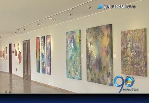 Diana Saldarriaga presenta su exposición de pinturas 'Fluir'