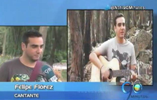 Felipe Flórez presentó su nuevo sencillo 'No Te Dejo Ir'