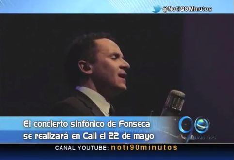 Fonseca hará concierto en Cali con la Orquesta Sinfónica