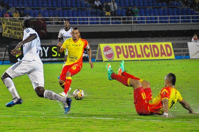 América de Cali salió inundado en su visita al Deportivo Pereira