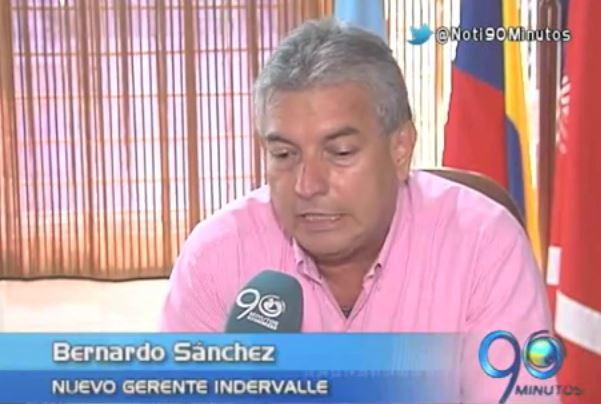 Bernardo Sánchez inició su gestión como gerente de Indervalle