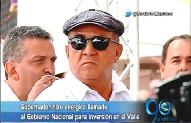 Gobernador critica la poca inversión de la Nación en el Valle