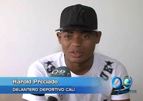 Harold Preciado, el hombre gol del Deportivo Cali virtual y real