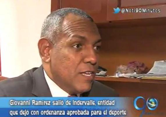 Sorpresa tras la salida de Giovanni Ramírez de la gerencia de Indervalle