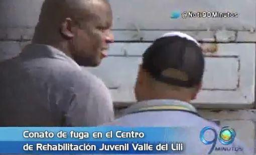 Autoridades controlaron intento de fuga en Valle del Lili