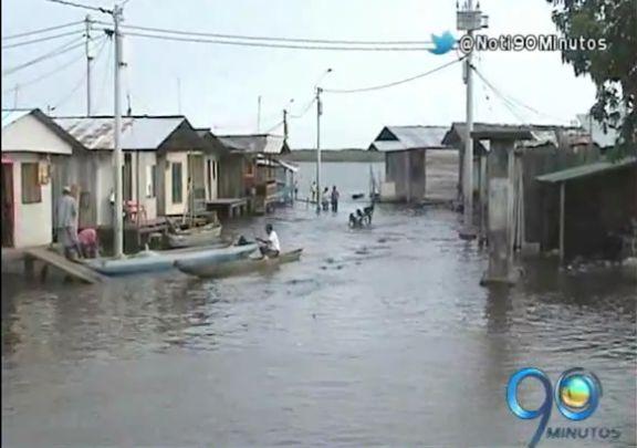 Inundación en 8 barrios de Tumaco por marea que llega cada 18 años