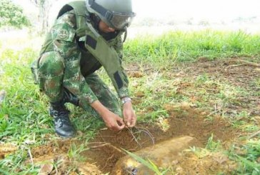 Cinco municipios en Valle se encuentran libres de sospecha de minas antipersonal