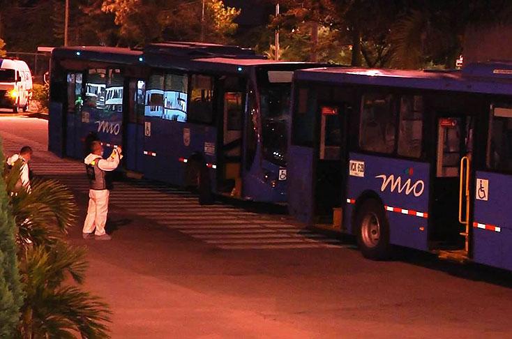 Conductora del Mío murió después de ser atropellada por un bus padrón