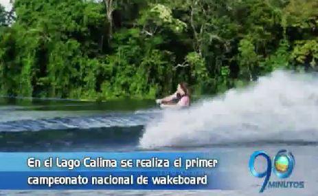 El Lago Calima recibe el primer Nacional de Wakeboard en Colombia